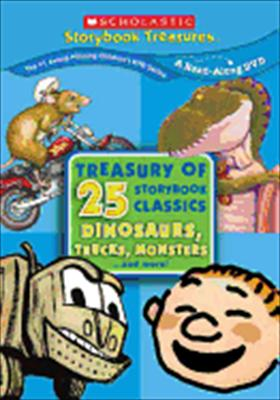 Treasury of 25 Storybook Classics: Dinosaurs, Monsters, Trucks... and More!