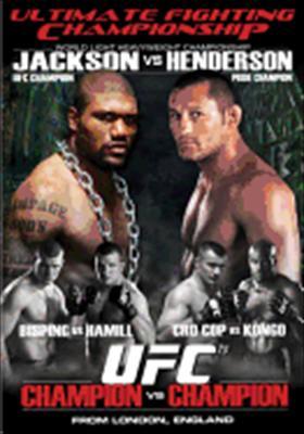Ufc 75: Champion vs. Champion