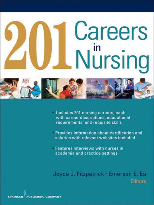 201 Careers in Nursing EB9780826133830