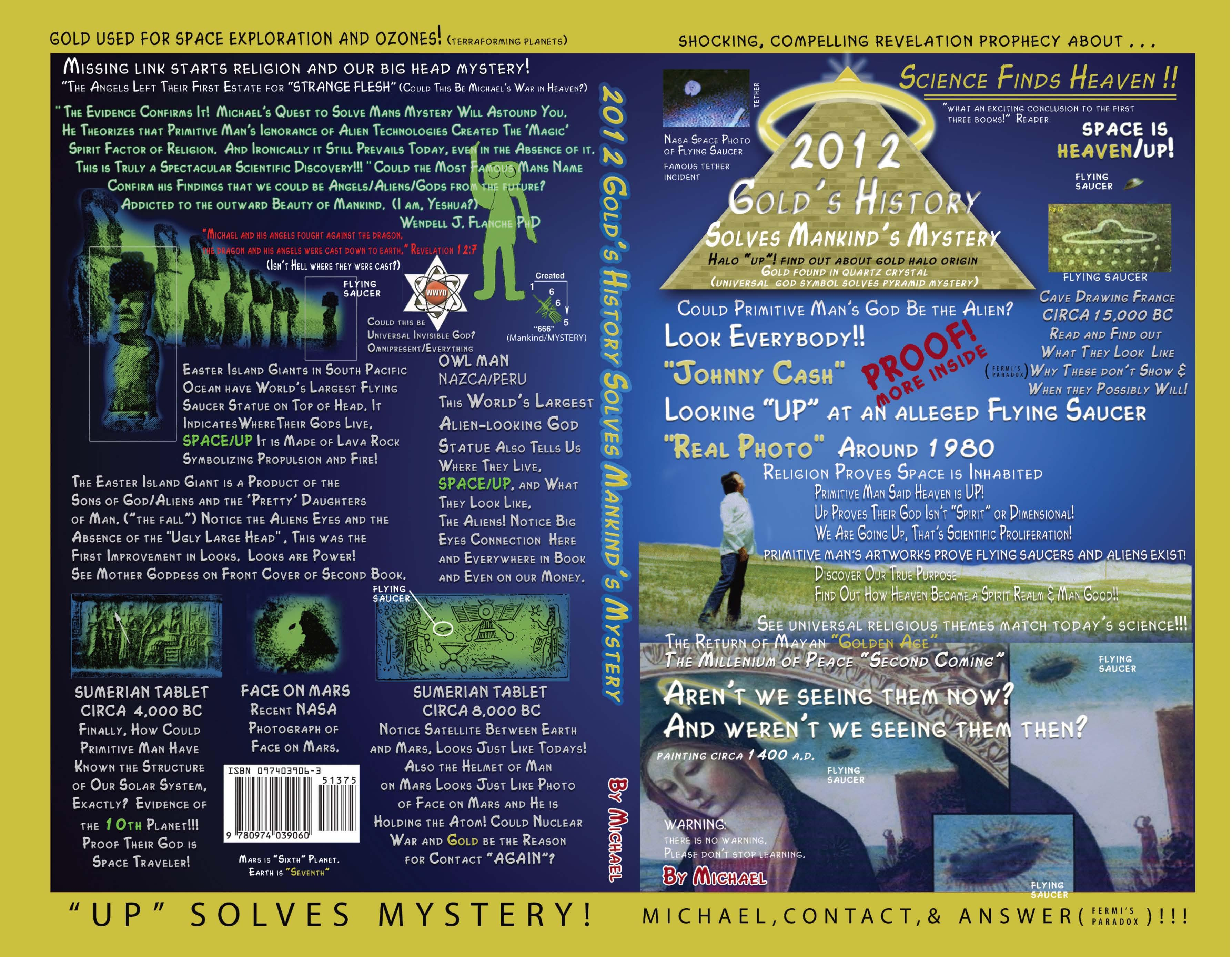2012 Gold's History Solves Mankind's Mystery EB9780974039077