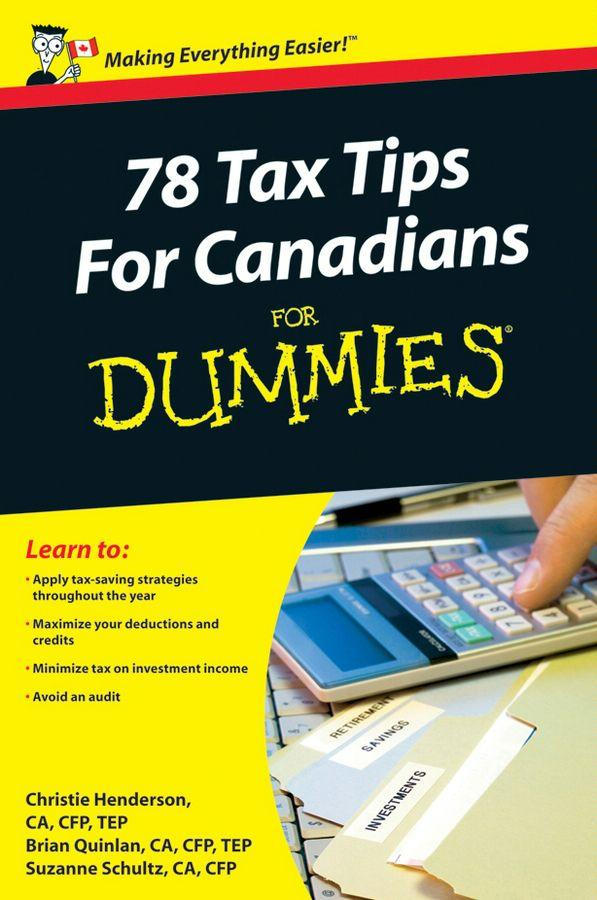 78 Tax Tips For Canadians For Dummies EB9780470677681