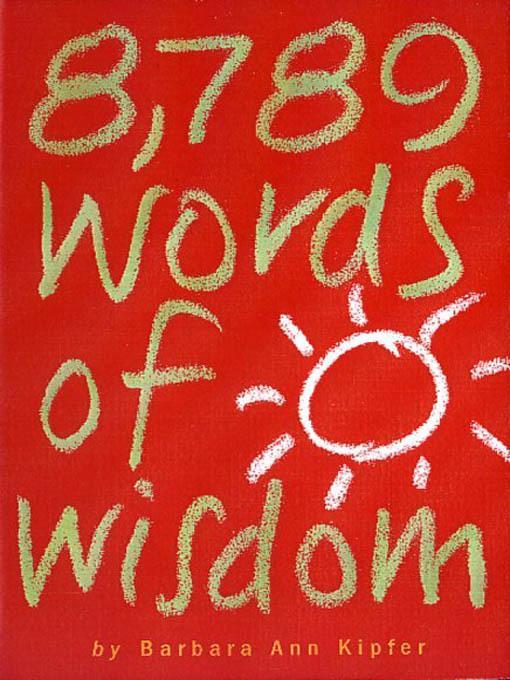 8,789 Words of Wisdom EB9780761154846