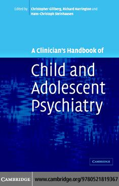 A Clinician's Handbook of Child and Adolescent Psychiatry EB9780511133350