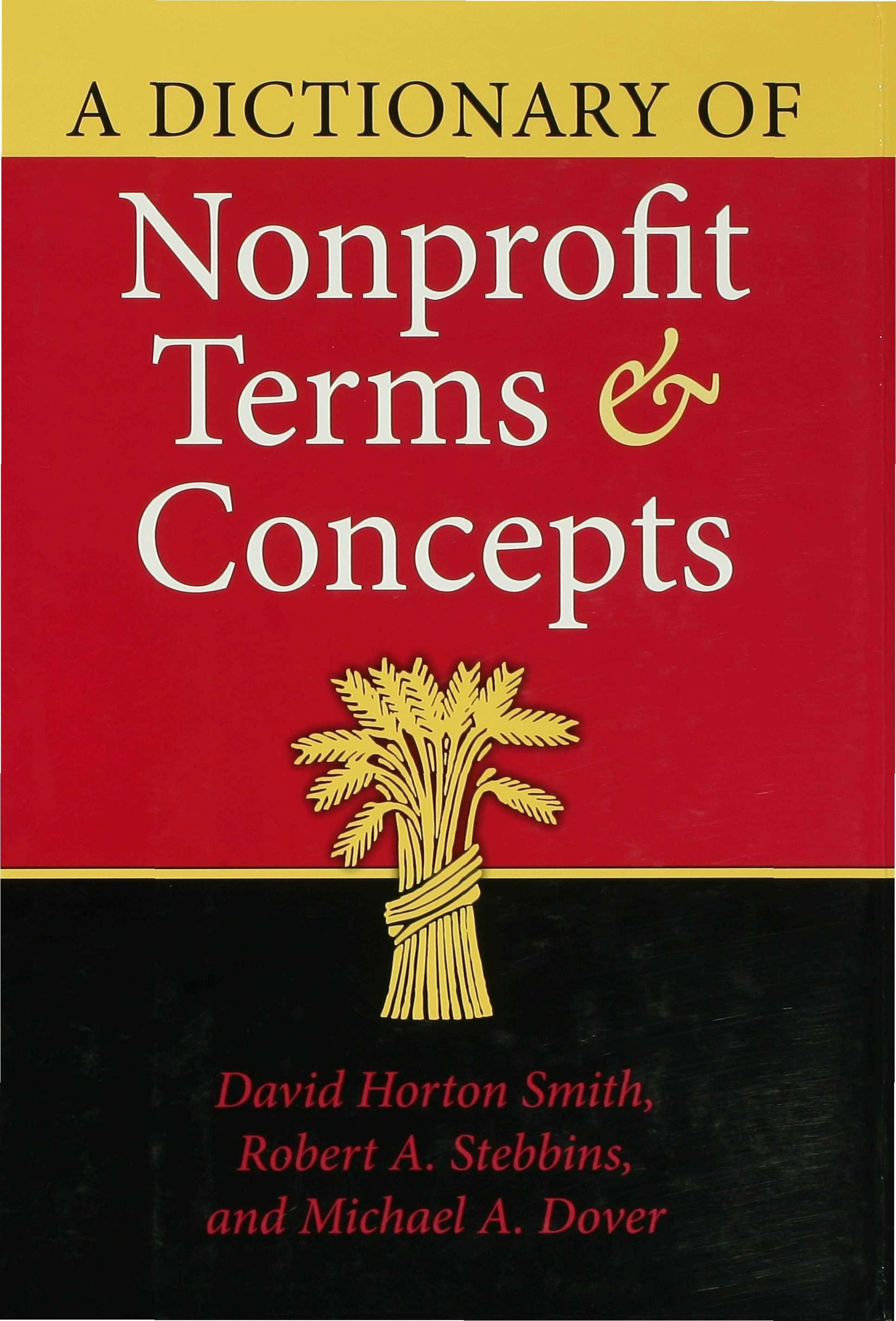 A Dictionary of Nonprofit Terms and Concepts EB9780253112224