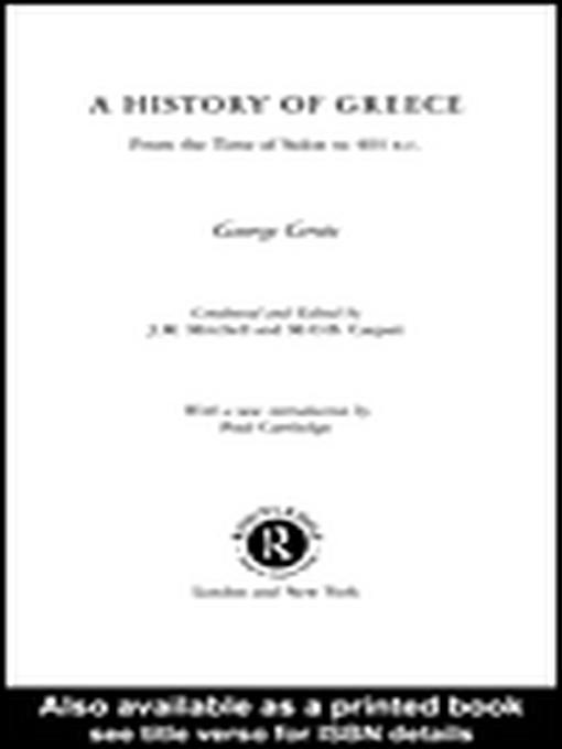 A History of Greece EB9780203445976