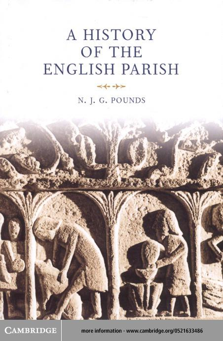 A History of the English Parish EB9780511036040