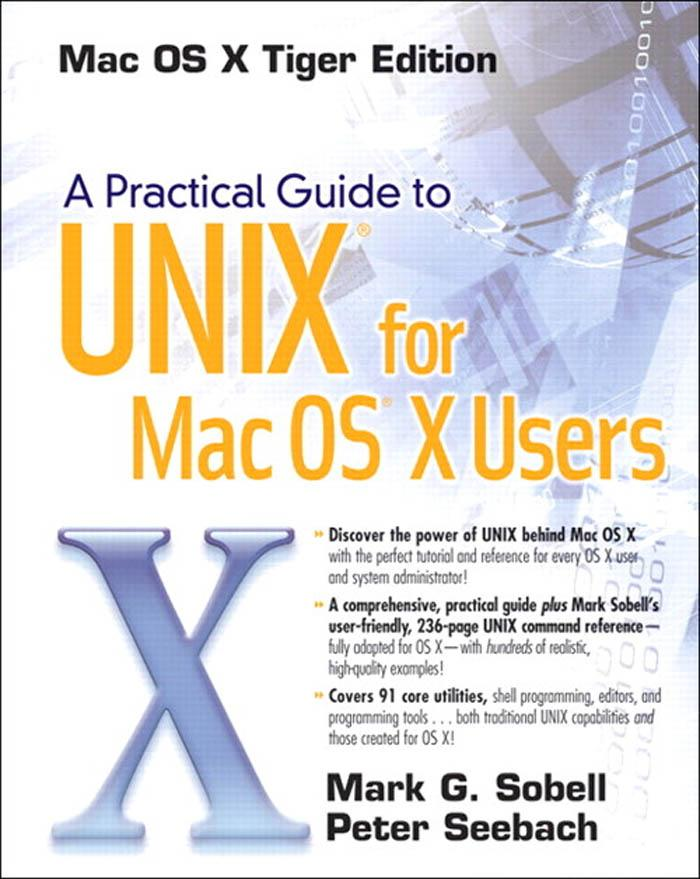 A Practical Guide to Unix for Mac OS X Users EB9780321630537