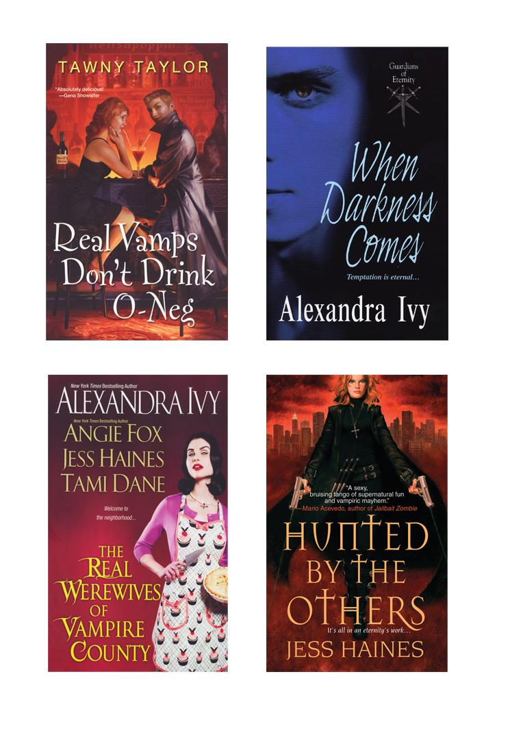 A Vampire Bundle: The Real Werewives of Vampire County, When Darkness Comes, Real Vamps Don't Drink O-Neg, & Hunted by the Others EB9780758280985