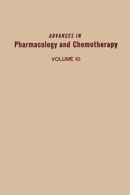 ADV IN PHARMACOLOGY &CHEMOTHERAPY VOL 10 EB9780080581019