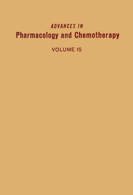 ADV IN PHARMACOLOGY &CHEMOTHERAPY VOL 15 EB9780080581064