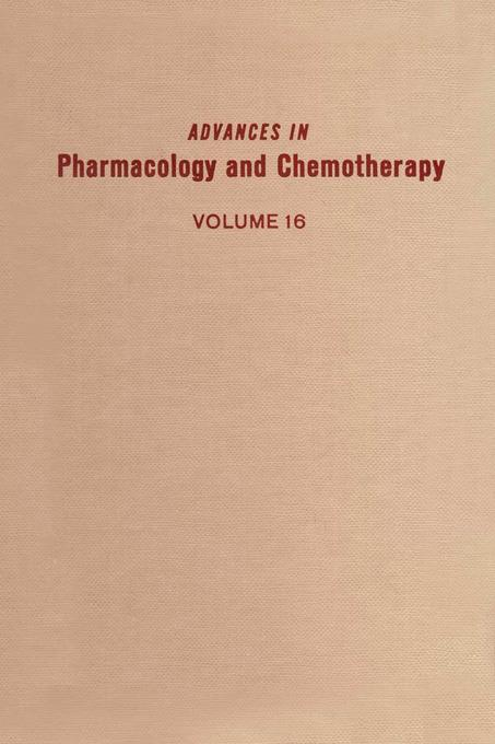 ADV IN PHARMACOLOGY &CHEMOTHERAPY VOL 16 EB9780080581071