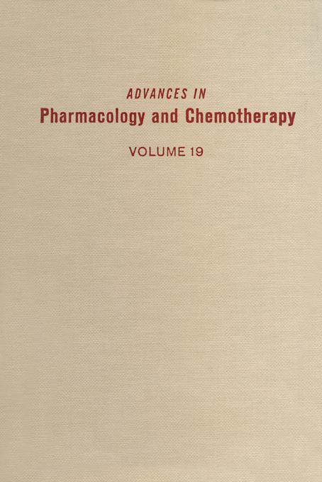 ADV IN PHARMACOLOGY &CHEMOTHERAPY VOL 19 EB9780080581101