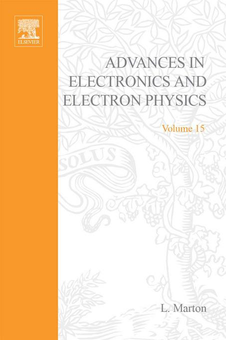 ADVANCES ELECTRONC &ELECTRON PHYSICS V15 EB9780080576763