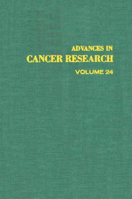 ADVANCES IN CANCER RESEARCH, VOLUME 24 EB9780080562063