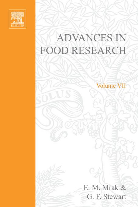 ADVANCES IN FOOD RESEARCH VOLUME 7 EB9780080567525