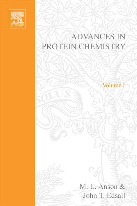ADVANCES IN PROTEIN CHEMISTRY VOL 1 EB9780080581743