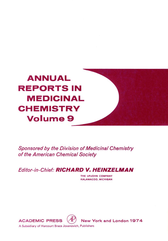 ANNUAL REPORTS IN MED CHEMISTRY V9 PPR EB9780080583532