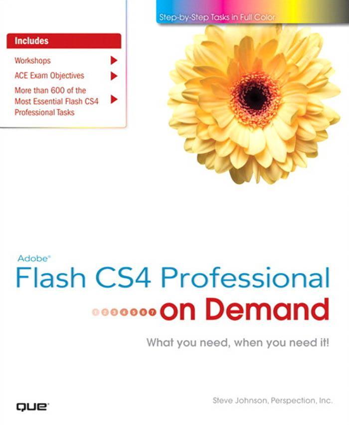 Adobe? Flash CS4 Professional on Demand EB9780768687613