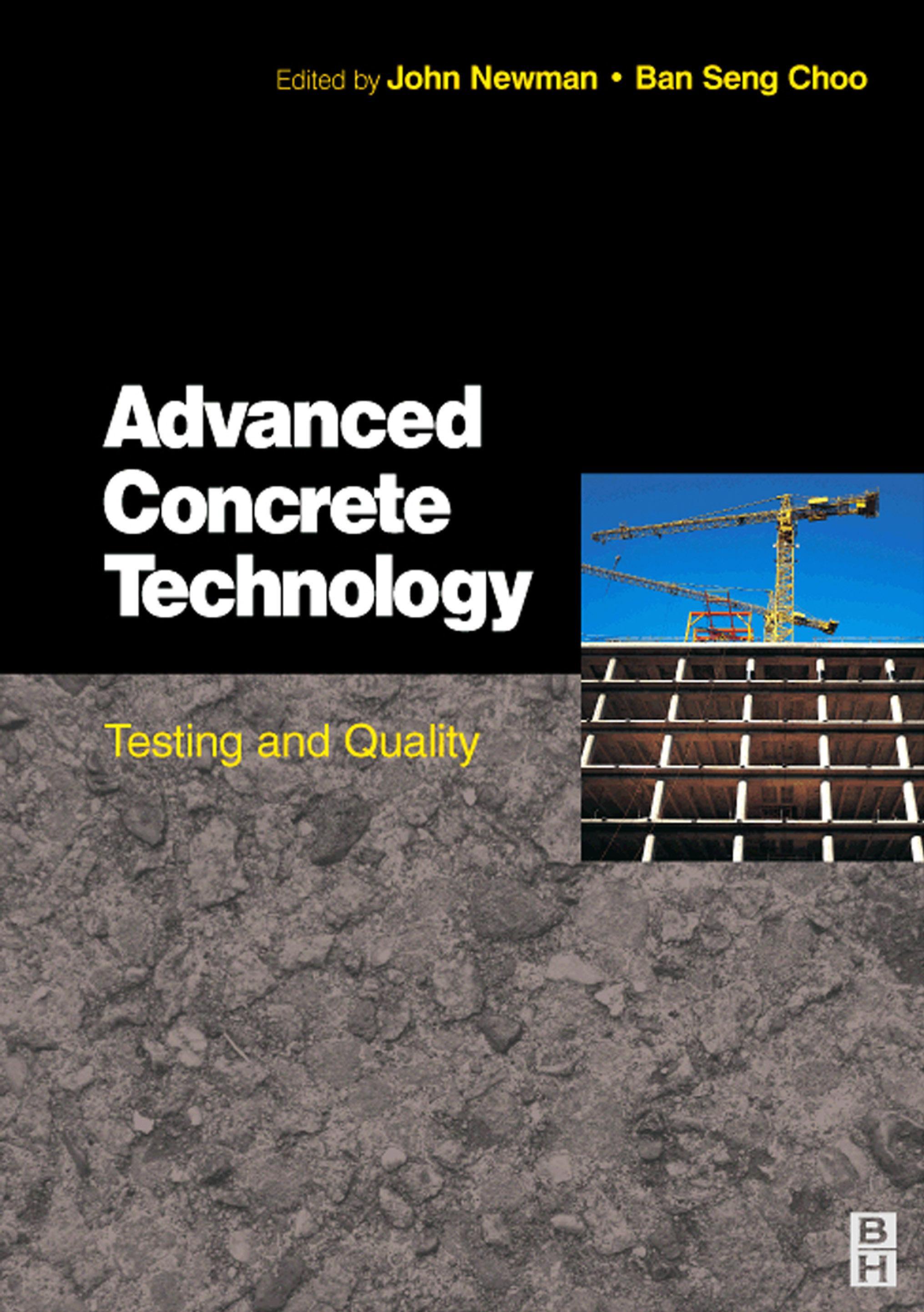 Advanced Concrete Technology 4: Testing & Quality EB9780080489995