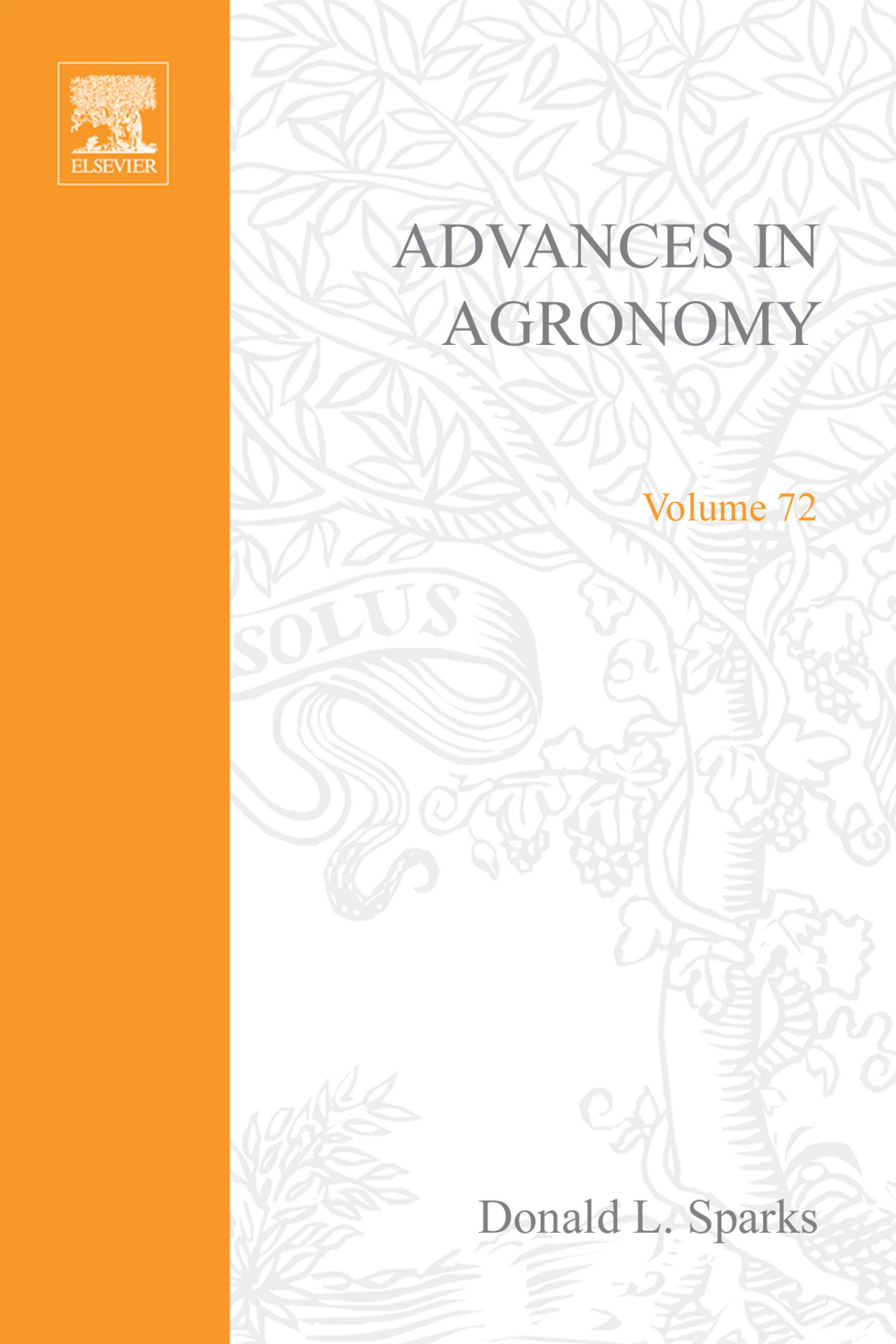 Advances in Agronomy EB9780080543994