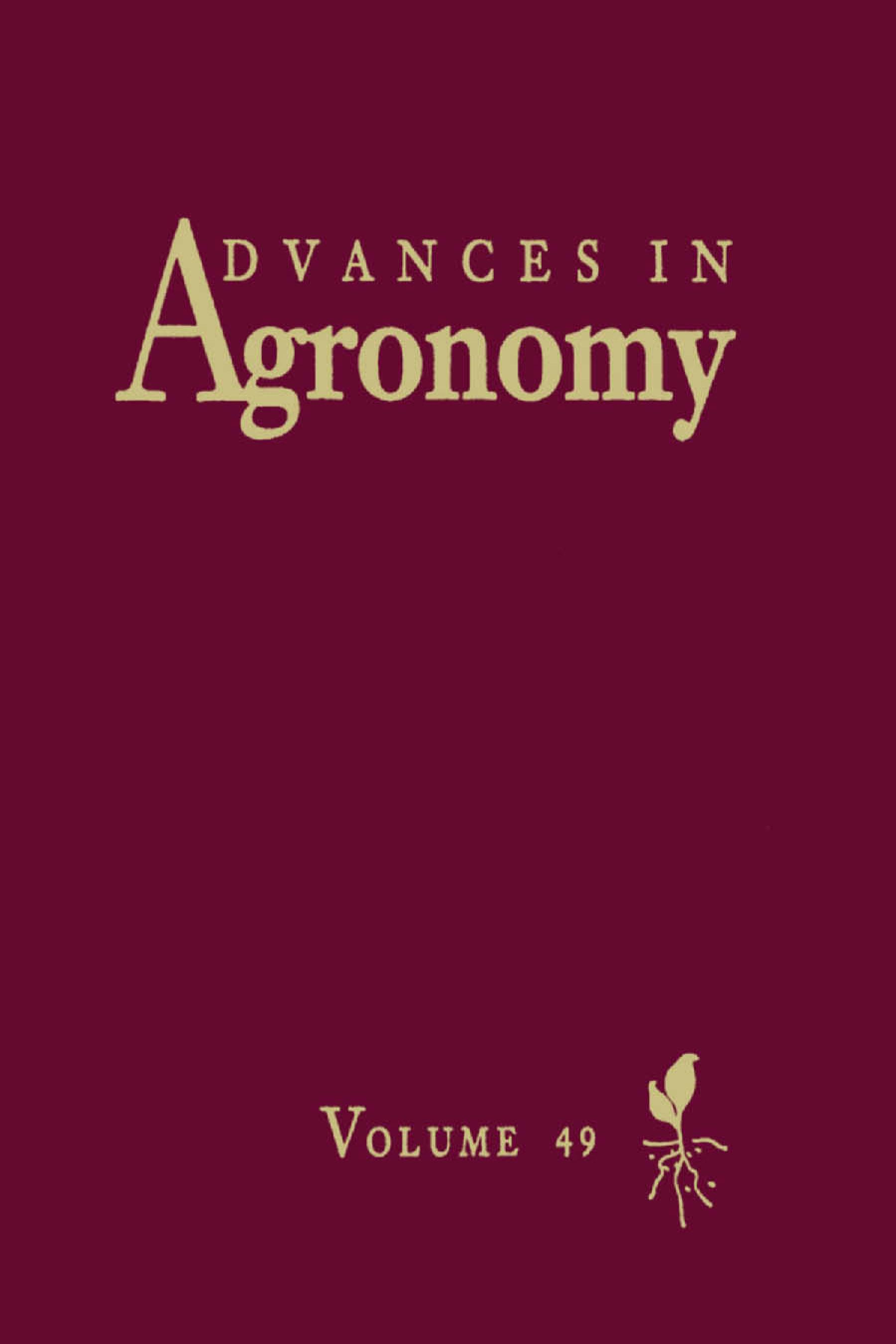 Advances in Agronomy EB9780080563626