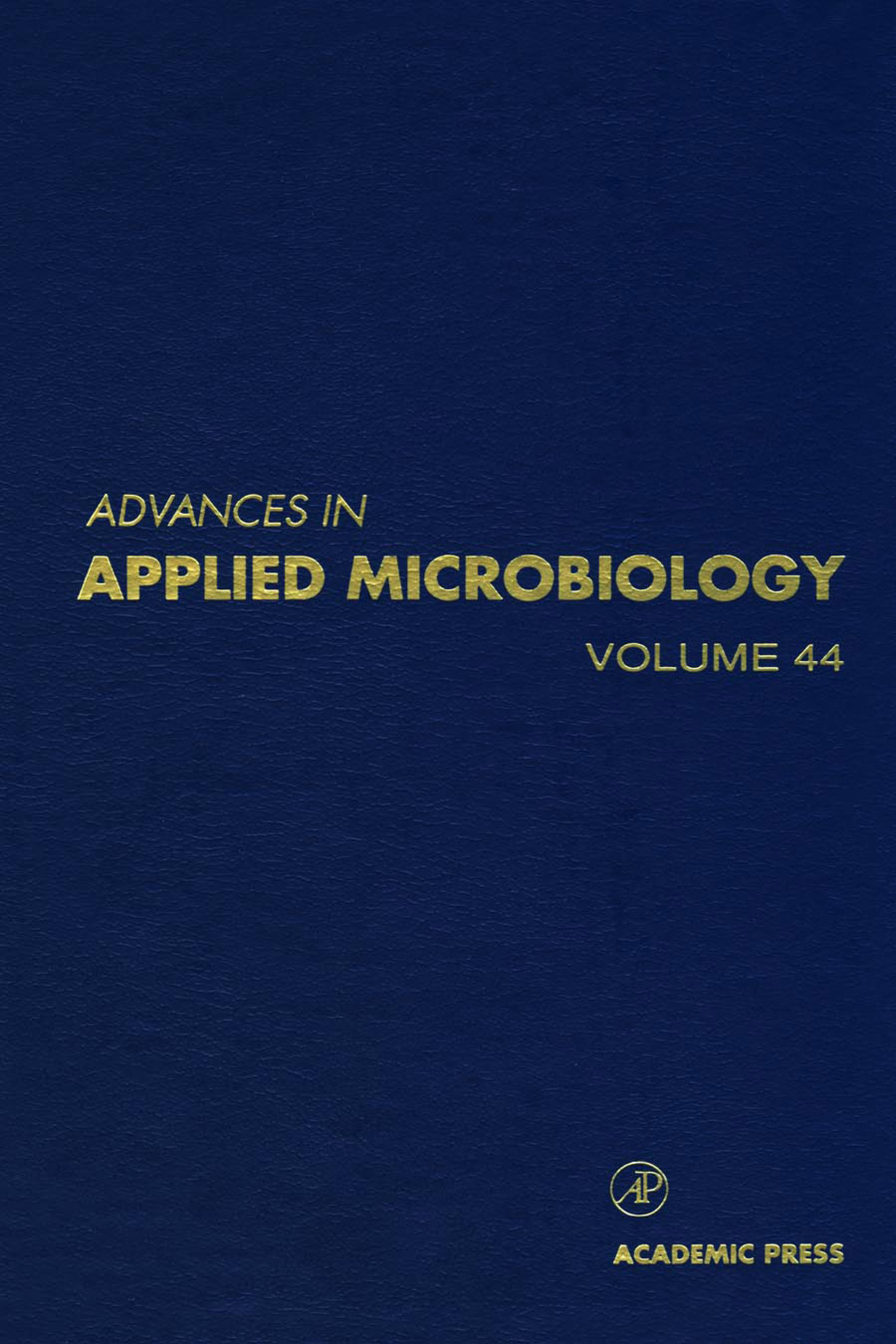 Advances in Applied Microbiology EB9780080564586