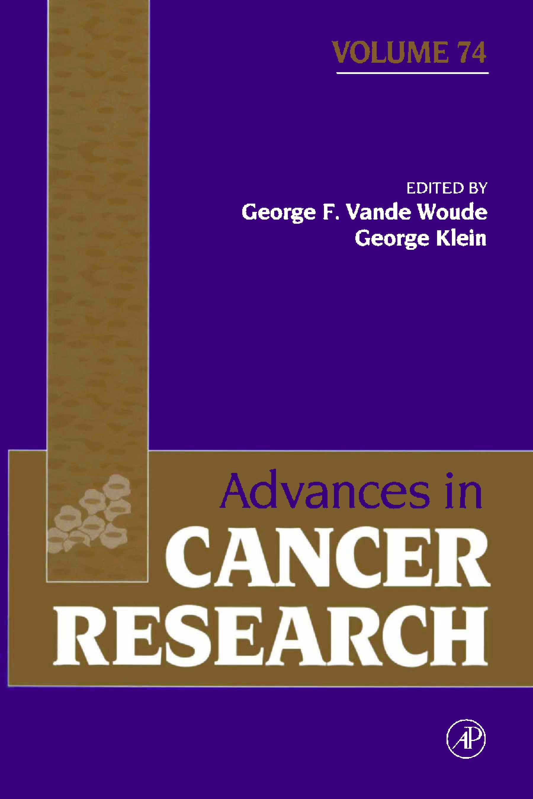 Advances in Cancer Research EB9780080562568