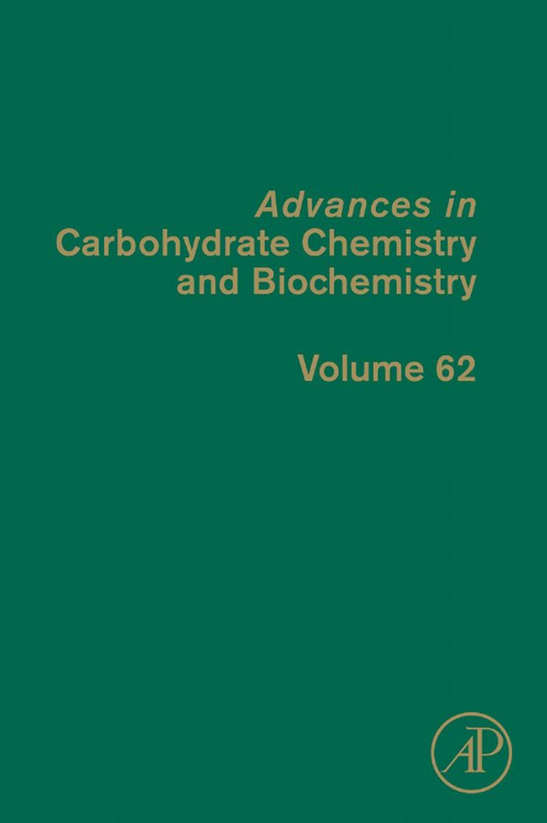 Advances in Carbohydrate Chemistry and Biochemistry EB9780080563107