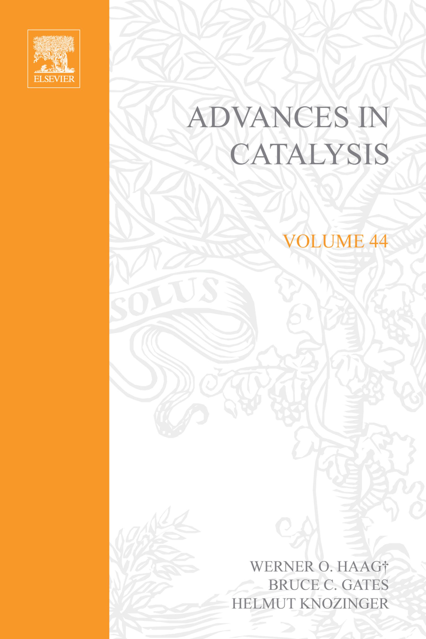 Advances in Catalysis EB9780080493480