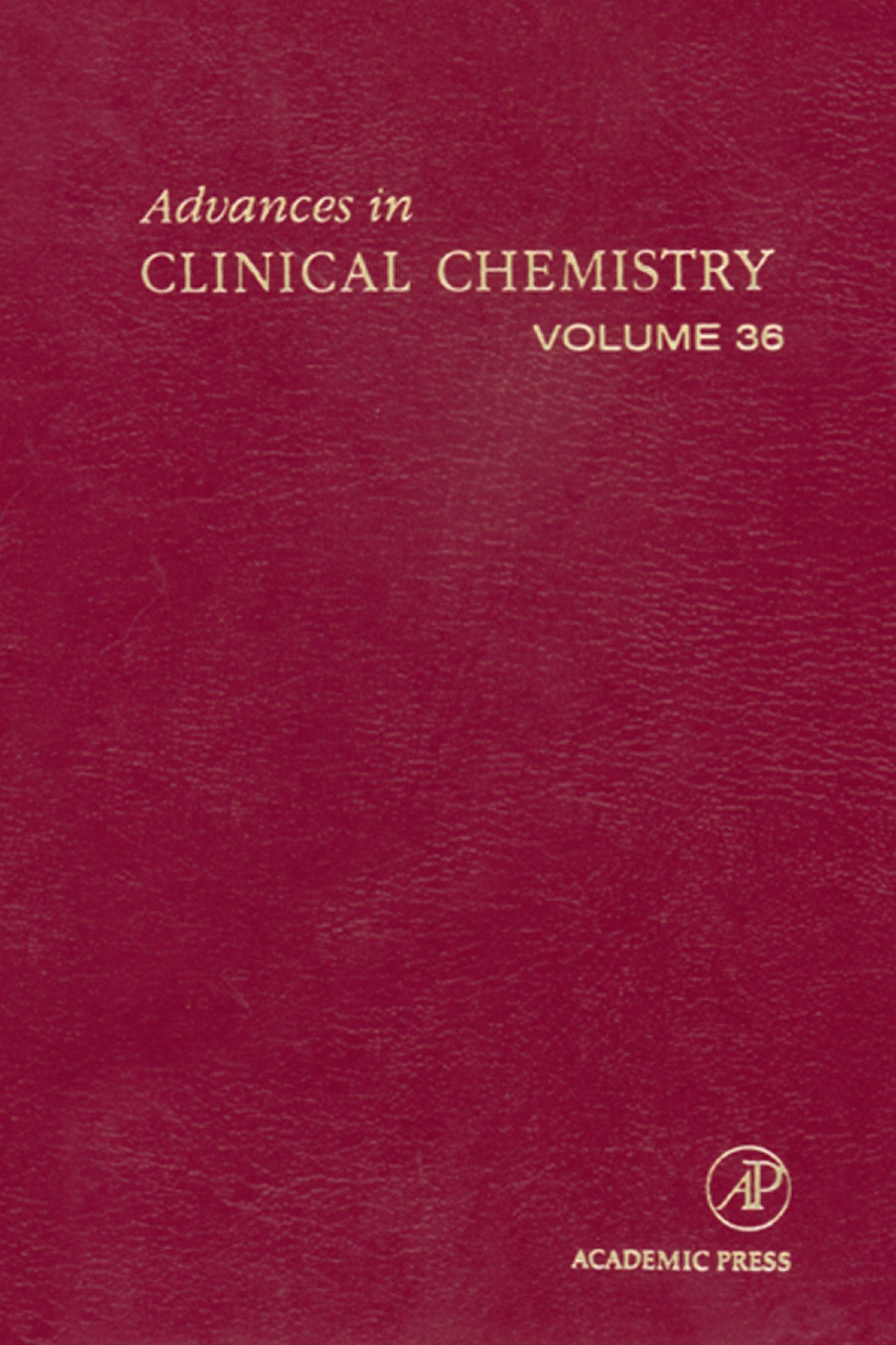 Advances in Clinical Chemistry EB9780080490250