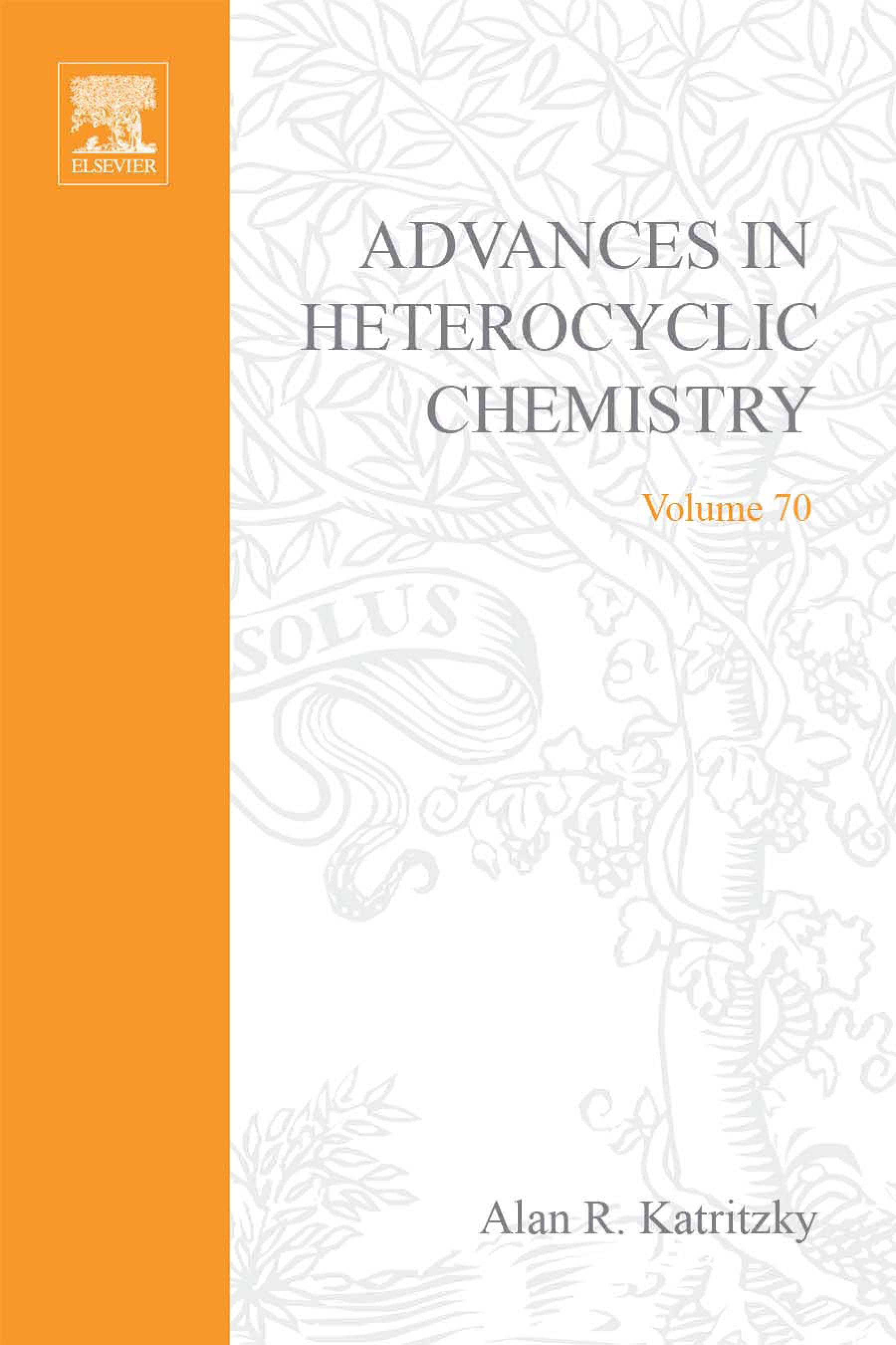 Advances in Heterocyclic Chemistry EB9780080576572