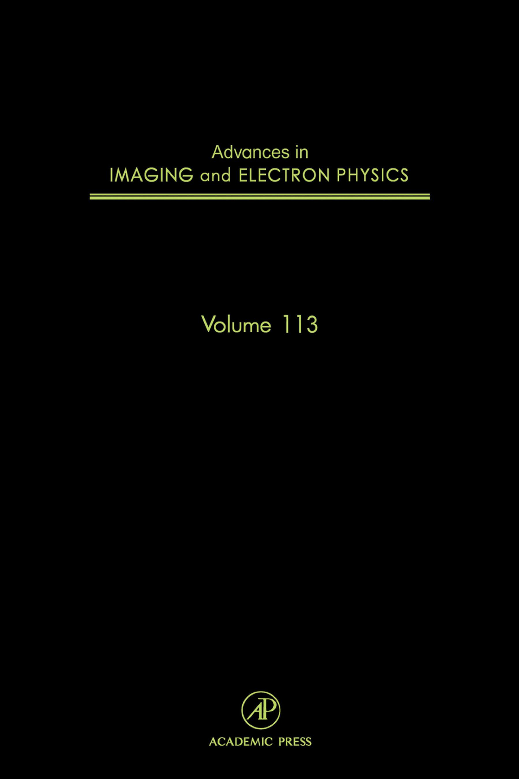 Advances in Imaging and Electron Physics EB9780080526188
