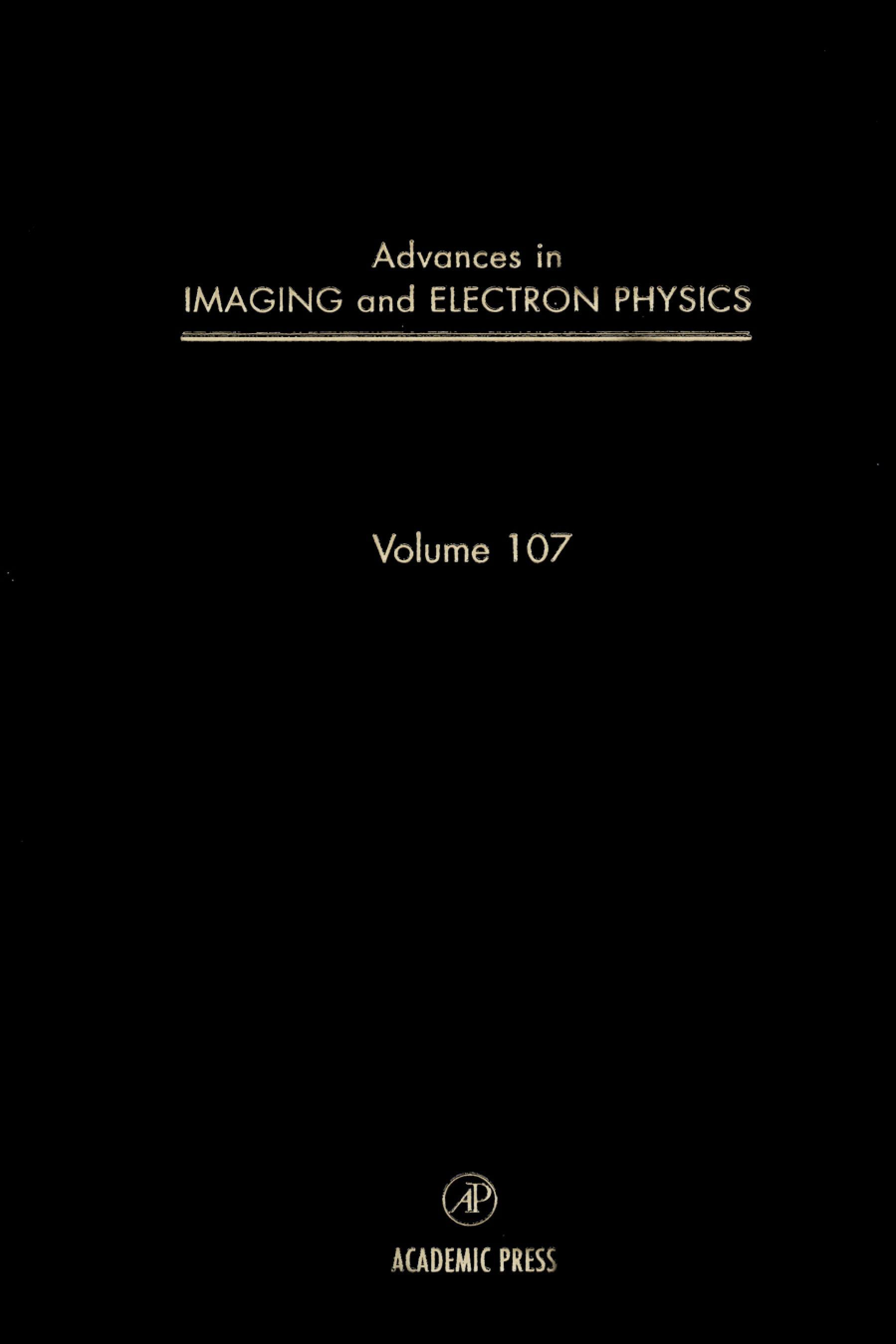 Advances in Imaging and Electron Physics EB9780080577739