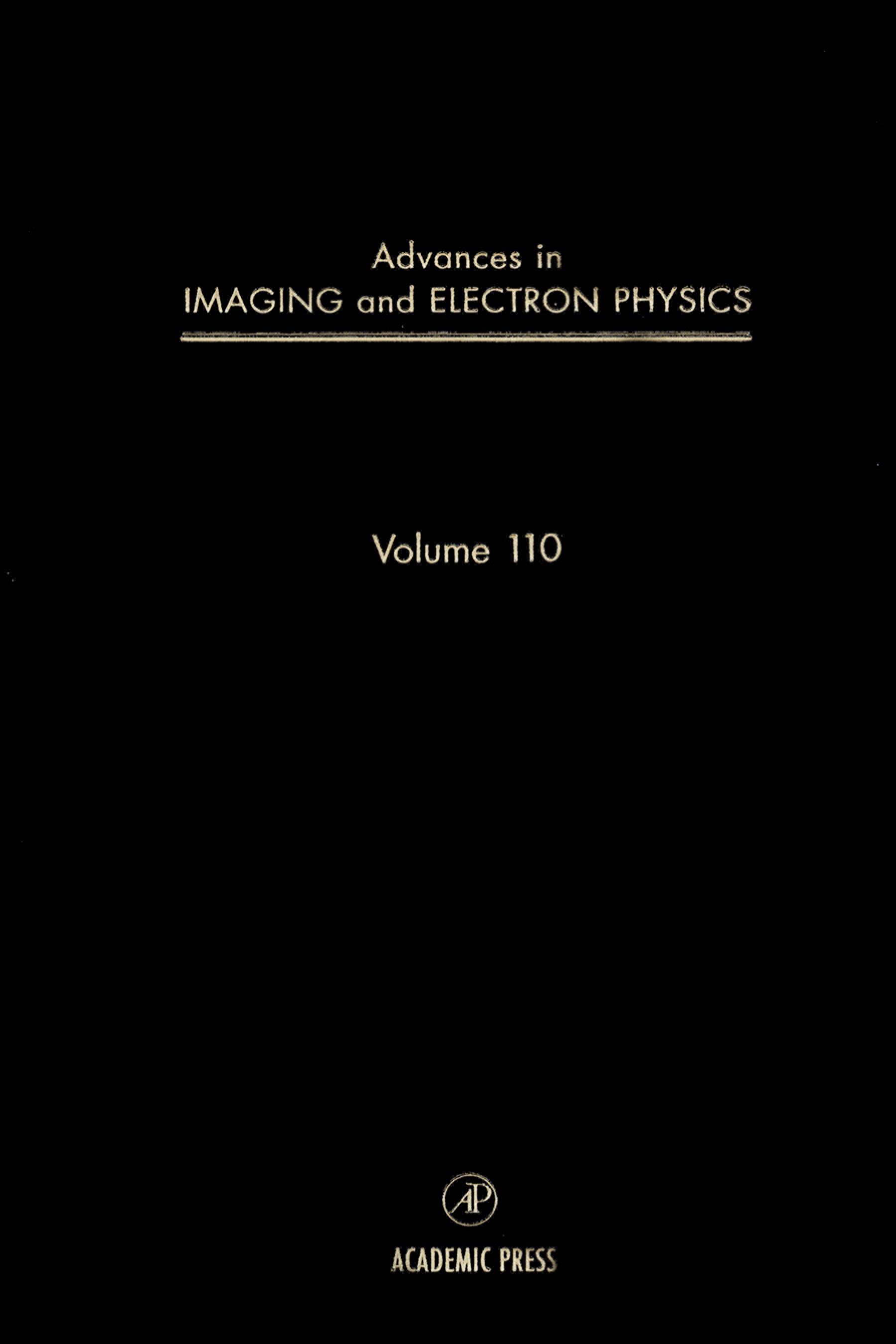 Advances in Imaging and Electron Physics EB9780080577760