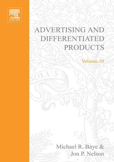 Advertising and Differentiated Products EB9780080545936