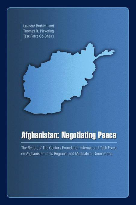 Afghanistan: Negotiating Peace EB9780870785269