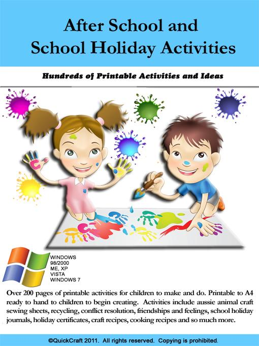After School Printable Activities EB9780980605204