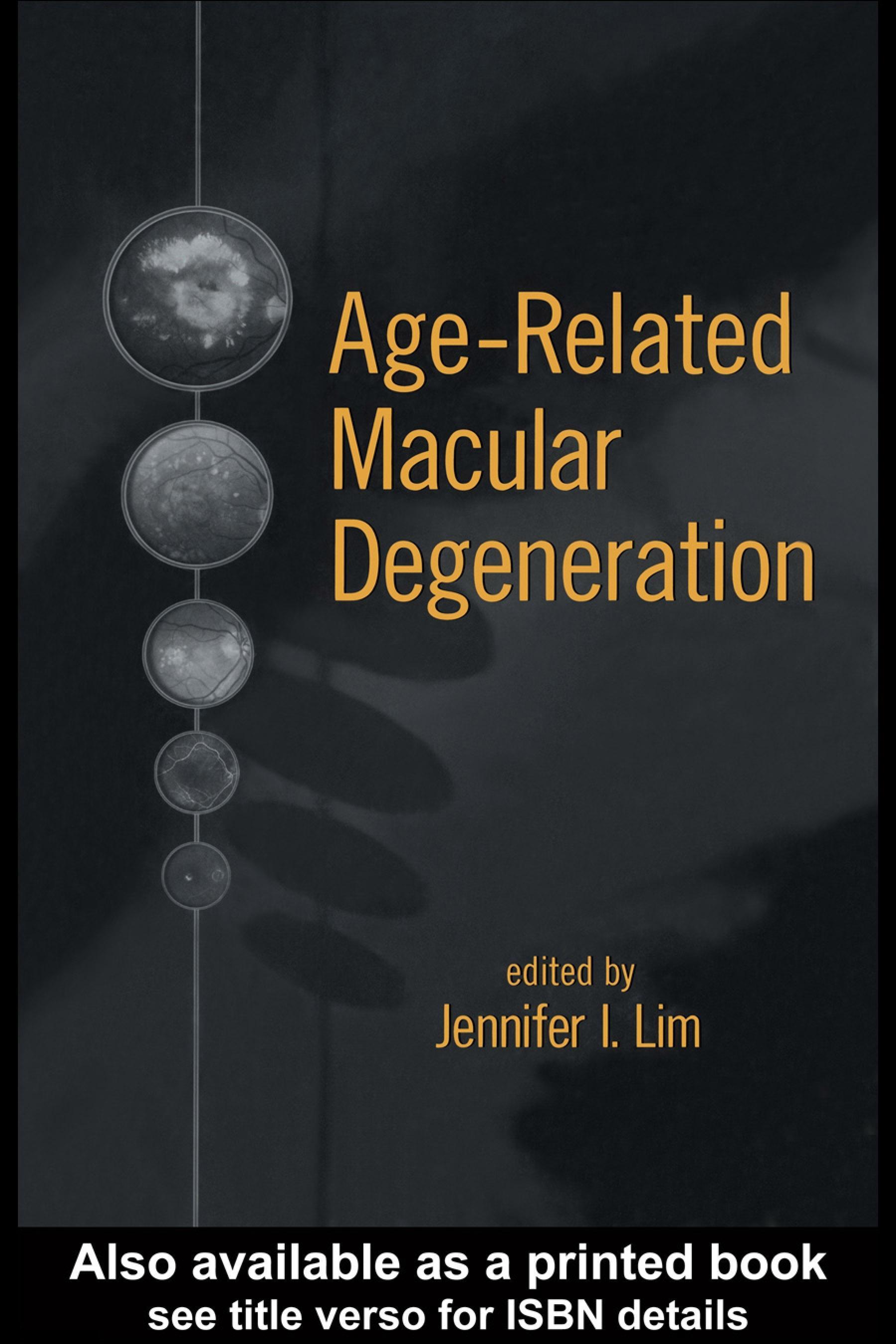 Age-Related Macular Degeneration EB9780203909157