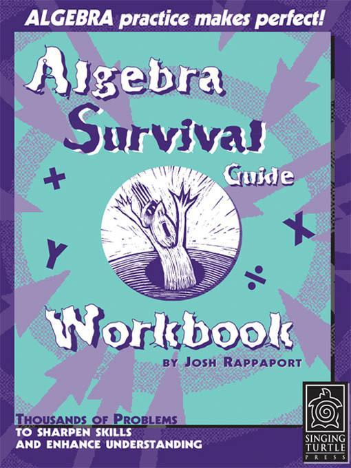 Algebra Survival Guide Workbook EB9780984638123