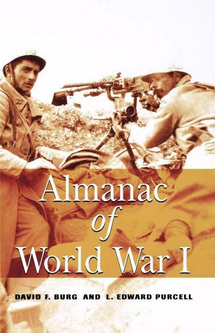 Almanac of World War I EB9780813137711