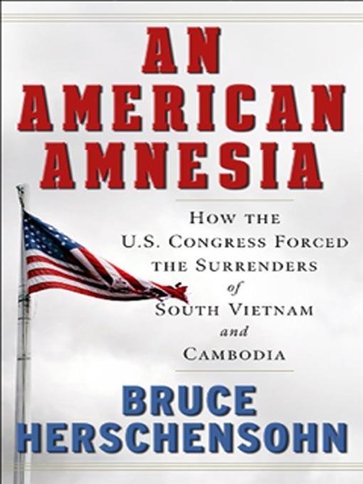An American Amnesia EB9780825305610
