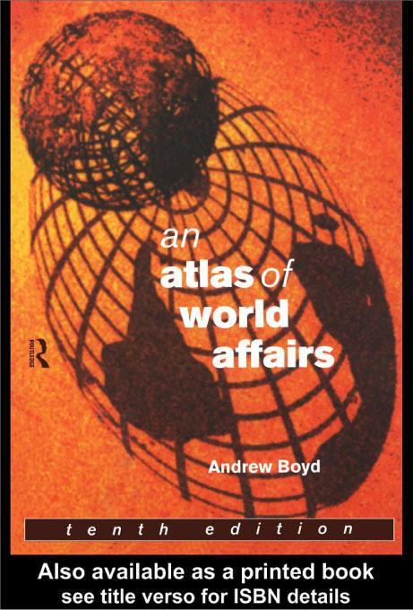 An Atlas of World Affairs EB9780203571651