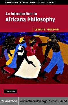 An Introduction to Africana Philosophy EB9780511402524