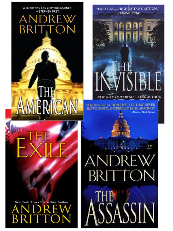 Andrew Britton Bundle:  The American, The Assassin,The Invisible, The Exile EB9780786029235
