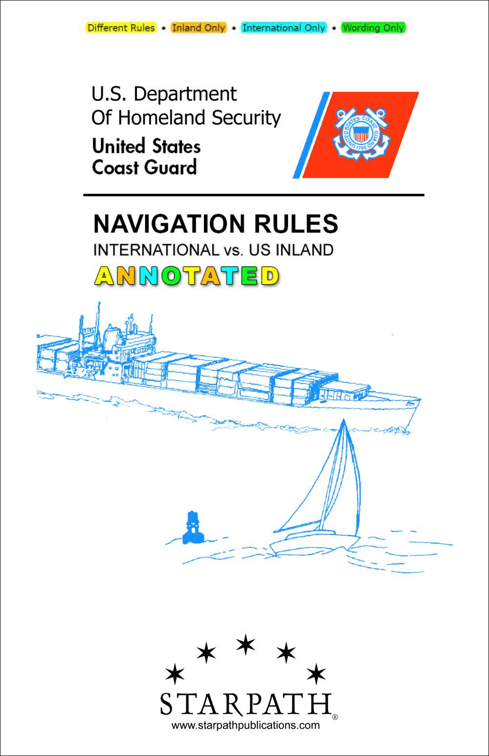 Annotated Navigation Rules - International vs. US Inland EB9780914025252