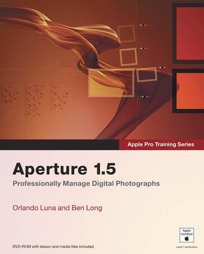 Apple Pro Training Series: Aperture 1.5 EB9780321502100