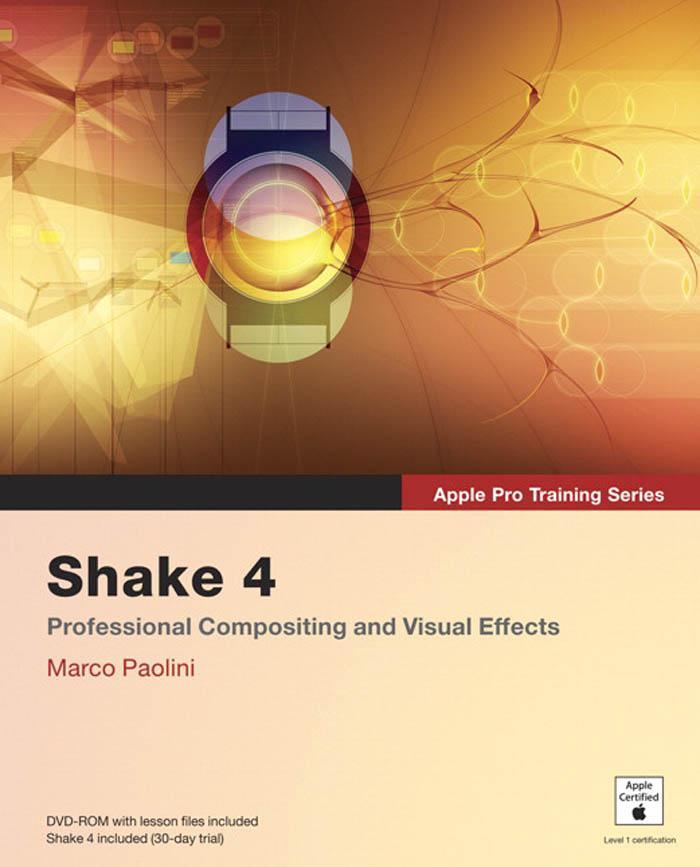 Apple Pro Training Series: Shake 4 EB9780321502209