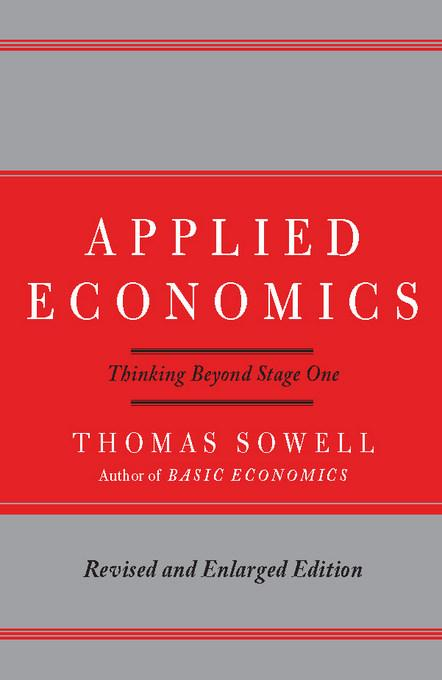 Applied Economics: Thinking Beyond Stage One EB9780786722709