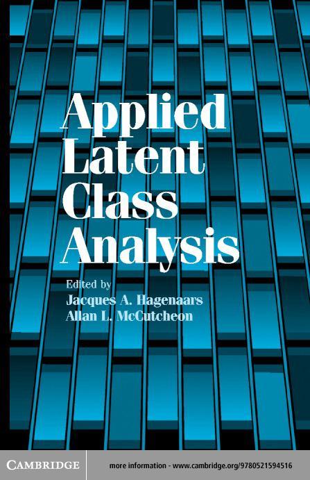 Applied Latent Class Analysis EB9780511059636