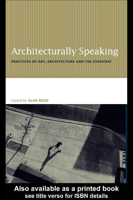 Architecturally Speaking EB9780203468791